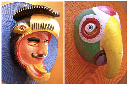 Mexican folk art masks Philadelphia