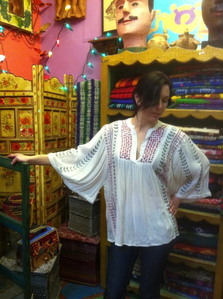 Lela embroidered tunic by Kyla Seo