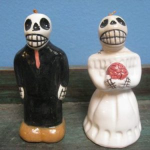Day of the Dead Dinner Bells