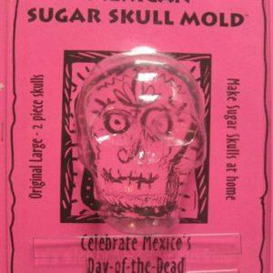 Sugar skull mold