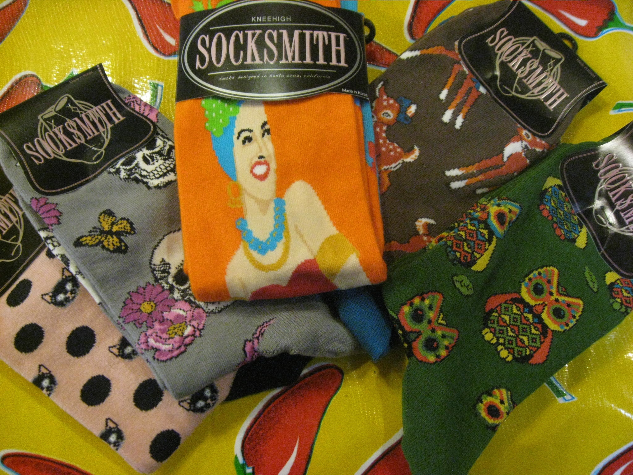 Cool new folk art (and socks!)