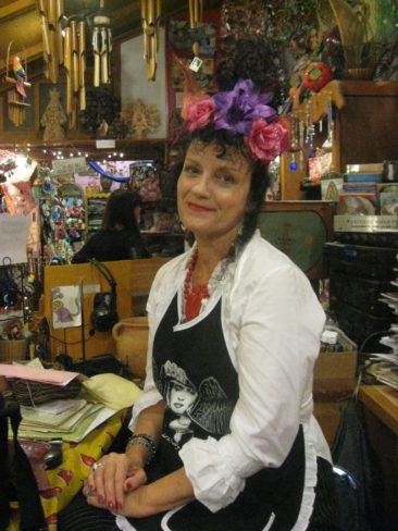 Our Carole channeling Frida