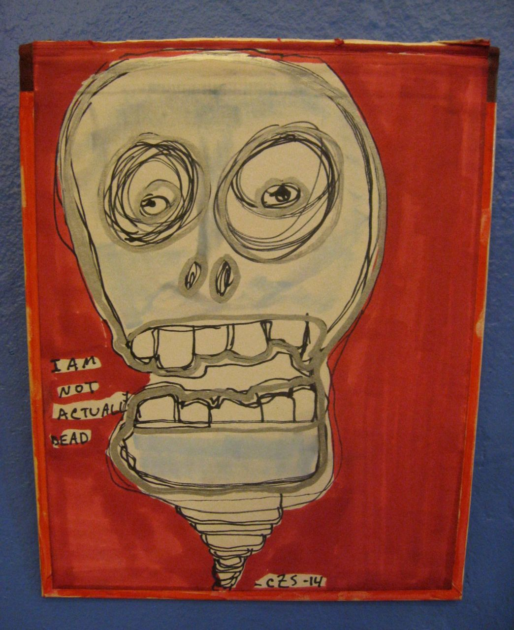 Our Day of the Dead Art Show is up through November 3rd