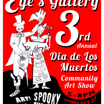 Day of the Dead Art Show flyer