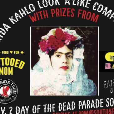 Dia De Los Muertos Festival and Parade this Sunday, November 2nd!