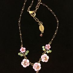 Belladonna Rose Garden necklace