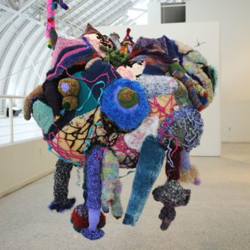 Rachel Blythe Udell soft sculpture