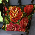 tapestry bag with roses from Guatemala