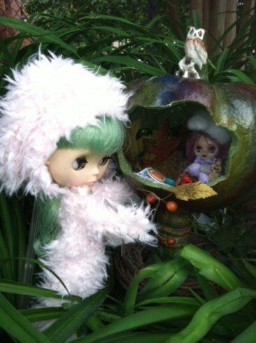 Blythe Doll art