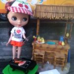 Blythe Doll cookout