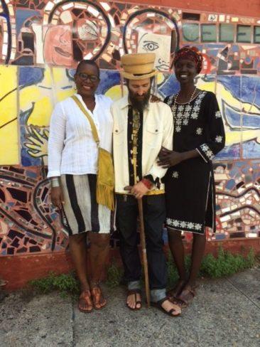 Nykhor Paul with Donna Dove and Zeke Zagar