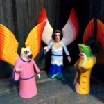 Mexian folk angels and animals