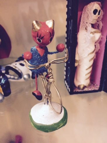 Devil girl figurine