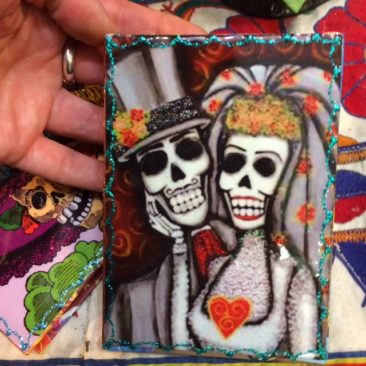 Day of the Dead wedding journal