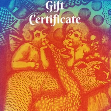 Gift Certificates Now Available online!