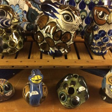 Mexican ceramic animals