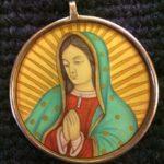 Virgen de Guadalupe amulet