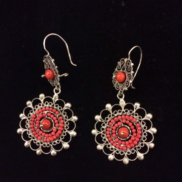 Vintage Mexican earrings