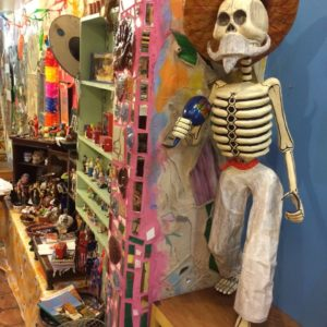 Large Papier-Mache Skeleton