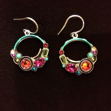 Firefly hoop earrings, $70