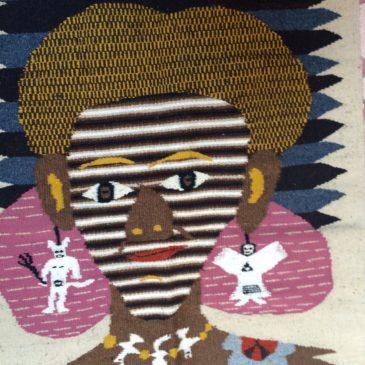 woven rug of Julia Zagar