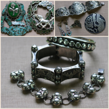 Trunk Show: Vintage Mexican jewelry