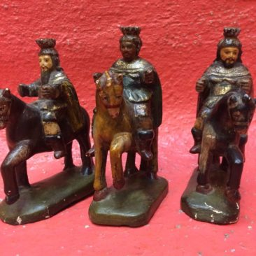 Antique Mexican 3 Kings set