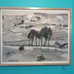 Julia Zagar, ink on paper