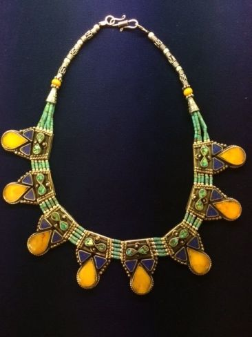 Tibetan necklace, $78