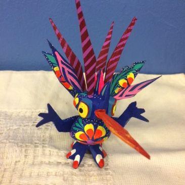 Whimsical Oaxacan creature, $22
