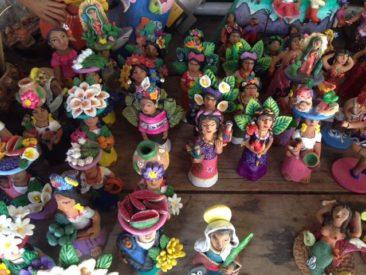 Josefina Aguilar ceramic figurines