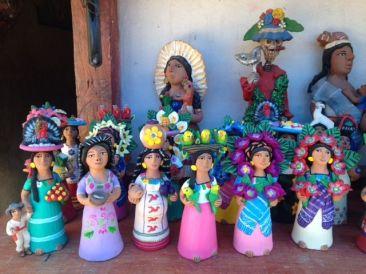 Josefina Aguilar ceramic ladies