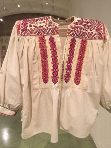 Embroidered Oaxacan blouse