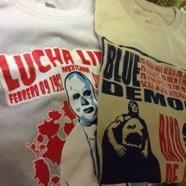 Lucha Libre T shirts, $24