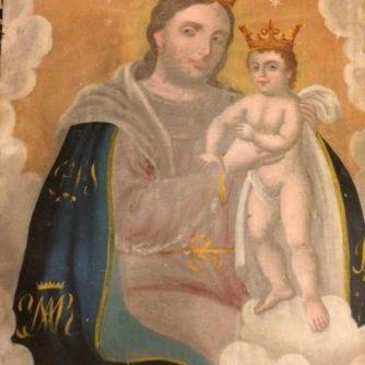 Mary with Jesus ratablo