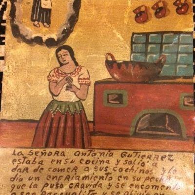La Señora Antonia Gutierrez Ex-Voto