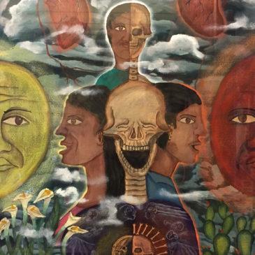 "Demetrio Garcia Aguilar - Guache original painting, $375 16.5 x 21.5"""