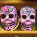 Day of the Dead sugar skull masks
