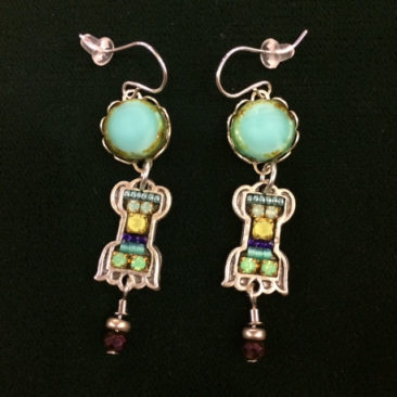 Ann Egan earrings, $70