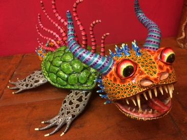 Papier-mache alebrije by Joel Garcia, $750