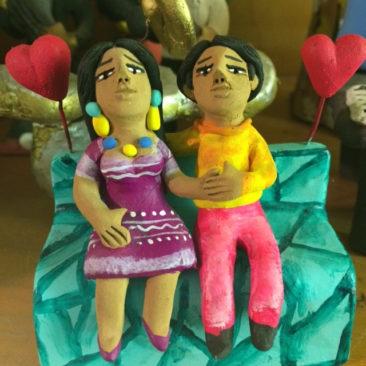Josefina Aguilar ceramic sculpture