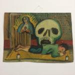 Virgin with Skull Ex Voto