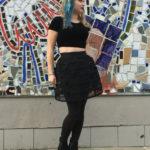 Cage skirt by KIKIRIKI, $95