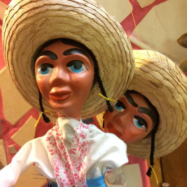 Mexican marionettes, $29