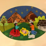 Peruvian embroidered nativity cards
