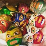 Luchador ornaments