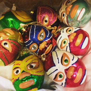 Luchador ornaments, $8.50 each