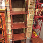 Wooden shelves, $245