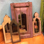 Large arched mirror, $88; small arched mirrors, $48 each
