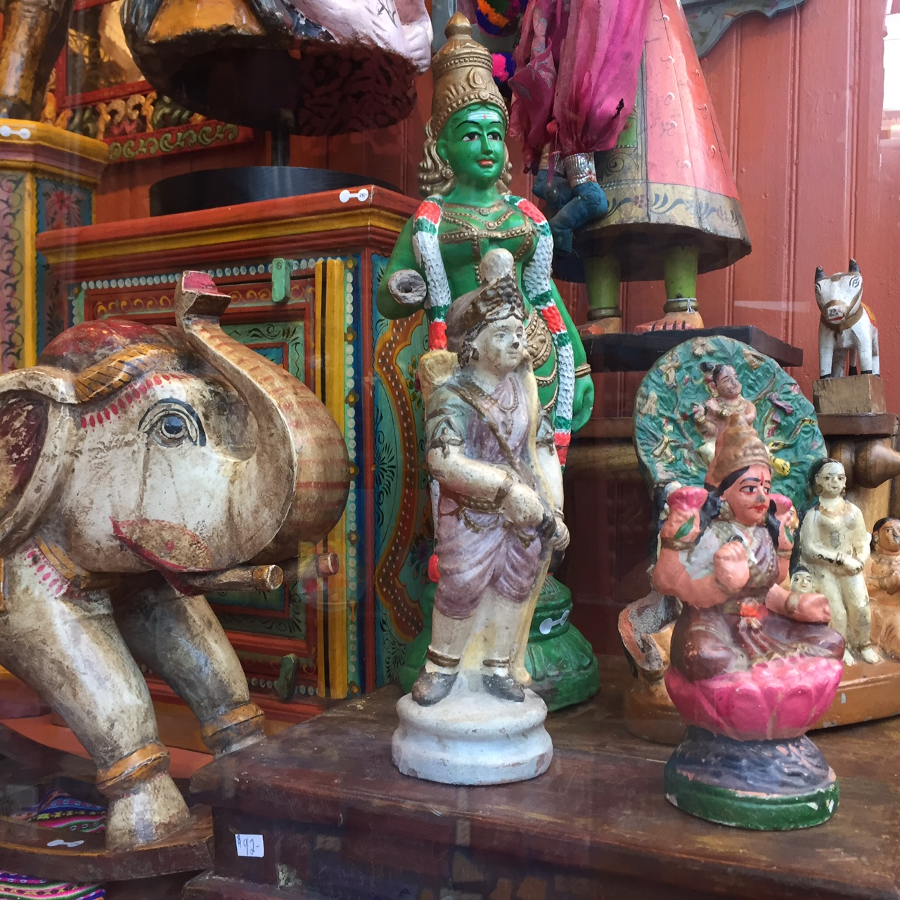 New Shipment of Vintage Indian Furniture and Home Decor